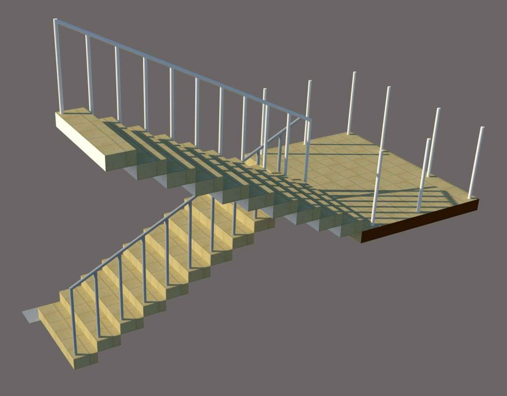 Staircase SketchUp file